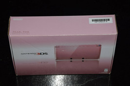 Nintendo 3DS Pearl Pink Wi-Fi Game Entertainment System Console CTRSPAAA New #NA - $599.99