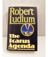 The Icarus Agenda by Robert Ludlum (1988, Hardcover) - $4.50