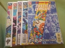 Justice League International #65, 66, 67, 68, annual #4, - $8.50