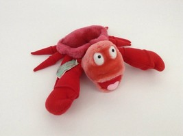 "The Little Mermaid Sebastian Red Crab 8"" Plush Stuffed Vintage Applause ... - $17.77"