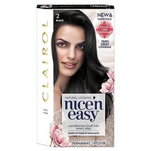 Clairol Nice 'N Easy Permanent Hair Color, 2 Black - $2.93