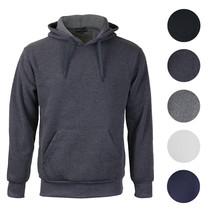 Men's Premium Athletic Drawstring Fleece Lined Sport Gym Sweater Pullover Hoodie image 1