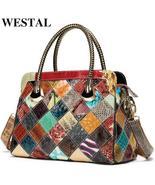 WESTAL genuine leather ,luxury women's handbags. - $109.99