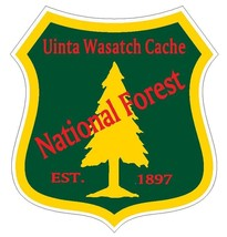 Uinta Wasatch Cache National Forest Sticker R3322 You Choose Size - $1.45+