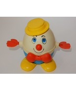 Fisher Price 1970's Humpty Dumpty #736 Pull Toy - $9.49
