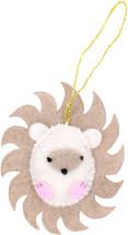 Fabric Editions Needle Creations Felt Ornament Kit-Hedgehog - $5.77