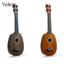 Yuker Yuker 41cm Ukelele Guitar Kids Simulation Wood Grain Music Art Edu... - $11.48
