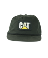 Vintage 80s Caterpillar Inc Cat Patch Spell Out Roped Snapback Hat Cap B... - £47.65 GBP