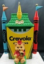 1993 Hallmark Ornament Keepsake Bright Shining Castle Crayola Crayon  #5... - $7.91