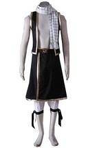 Fairy Tail Cosplay Costume Scarf Pants Halloween Party Uniform - $89.99+