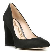Sam Edelman Women Classic Pump Heels Stillson Size US 9M Black Suede - $29.97
