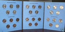 1999 TO 2001 P & D Uncirculated STATE QUARTER COLLECTION - $28.95