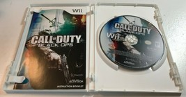 Call of Duty: Black Ops (Nintendo Wii, 2010) Game Complete image 2
