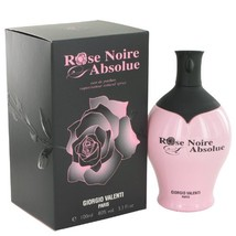 Rose Noire Absolue by Giorgio Valenti, 3.4 oz Eau De Parfum Spray for Women - $20.00
