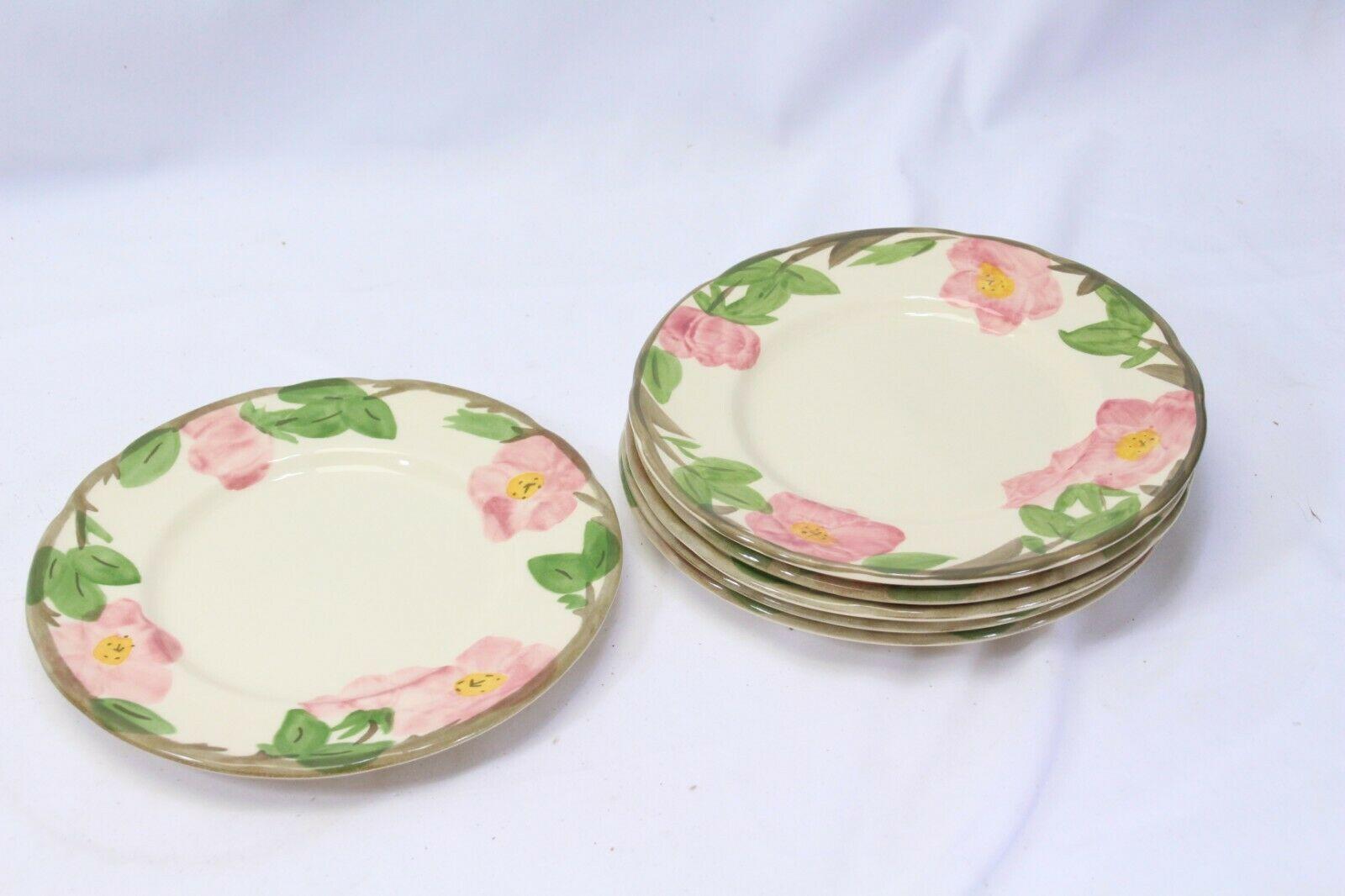 """Franciscan Desert Rose Salad Plates 7.875"""" Lot of 6"""