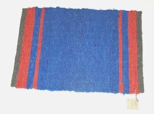 The Work Room CCR16 Connies Custom Rugs Colors Gray Red Blue Hand Made