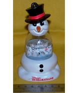 Disney / McDonald's 1996 snow globe, 101 Dalmatians, Snowman's Best Friend - $4.75