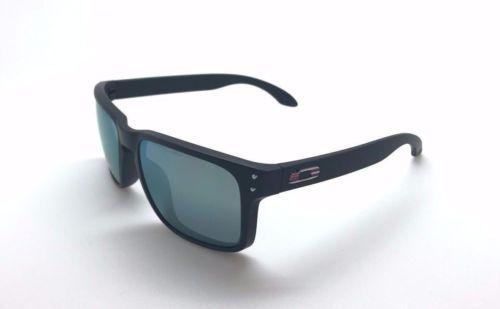 cc50a53b49 12. 12. Previous. Oakley Sunglasses OO9102 D955 Holbrook Black Frame Grey  Lens Polarized Matte