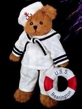"Bearington Bears ""Gilligan"" 10"" Plush Bear- #1627 - NWT- 2006 - $29.99"
