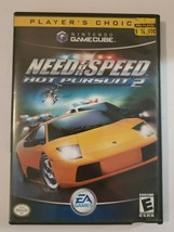 Need for Speed Hot Pursuit 2 2002 Nintendo GameCube Video Game CIB Complete - $10.84