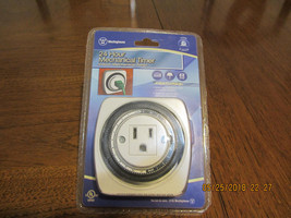 NEW Westinghouse T00446 Indoor Square Mechanical Timer - $8.00