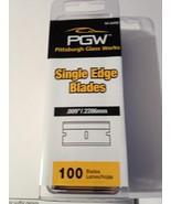 (15) 100 Pack Single Edge Razor Blades = 1500 individual blades .09 - $69.25