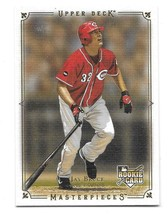 2008 Upper Deck UD Masterpieces Jay Bruce Rookie Card #59 - $0.98