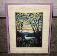 VTG 1985 At A Glance Cards & Gift Reminder Book Lilac Floral 5 Year Reco... - $27.14