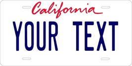 California  86 Tag License Plate Personalized Custom Auto Bike Motorcycl... - $10.99+