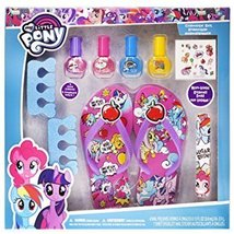 My Little Pony My Beauty Spa Set,Nail Polish,Sandal and Toe Separators F... - $13.71