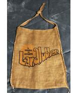 1970's Vintage Landlubber Jeans Tote Bag Burlap - $34.64
