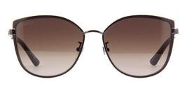 Gucci Women's Sunglasses GG0589SK 002 Brown Ruthenium/Brown Gradient Lens 57mm - $222.13