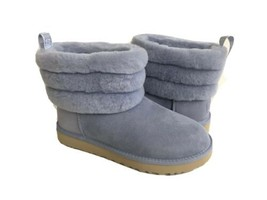 UGG CLASSIC MINI FLUFF QUILTED FRESH AIR SHEARLING BOOT US 9 / EU 40 / U... - £93.84 GBP