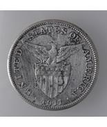 U.S Philippines 1911s, One (1) Peso Silver Coin... - $76.80