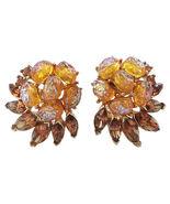 Trifari Etoile Ad Piece Couture Runway Earrings... - $100.00