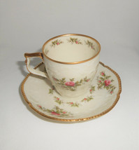 Rosenthal Sansscuci Rose Ivory Demitasse Cup and Saucer - $14.25