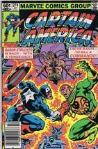 Captain America #274 ORIGINAL Vintage 1982 Marvel Comics Baron Strucker - $14.84