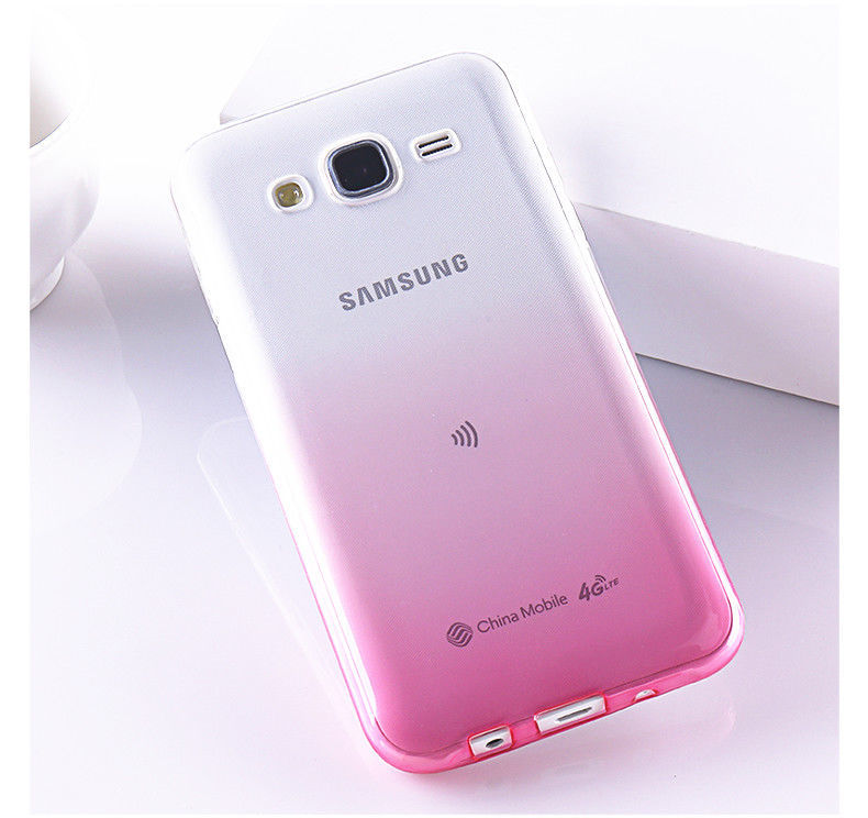 MaxGear® Gradient Soft TPU Cover For Samsung Galaxy J5 J500 j500F J7 J700 J1 Ace