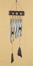 "28"" Zen Asian Style Windchime Metal & Wood NEW"