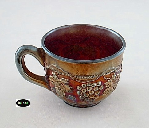 Northwood Carnival Grape and Cable Amethyst Cup no. 2