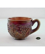 Northwood Carnival Grape and Cable Amethyst Cup no. 4 - $22.50