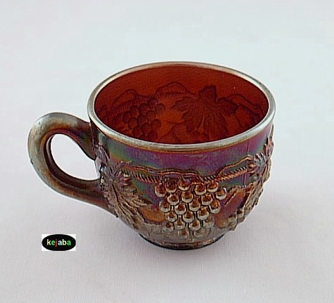 Northwood Carnival Grape and Cable Amethyst Cup no. 4