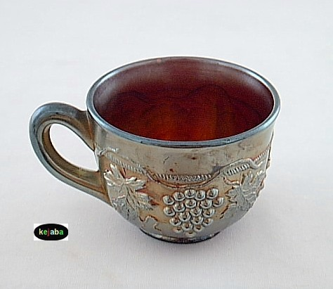 Northwood Carnival Grape and Cable Amethyst Cup no. 5