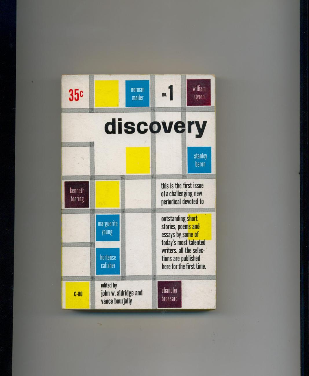 DISCOVERY #1 - 1952 - 1st - Mailer, Styron, others