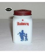 Dutch Scene W/Red Diamond Nutmeg Spice Shaker Depression Era - $9.95
