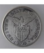 U.S Philippines 1910s, One (1) Peso Silver Coin  - $70.40