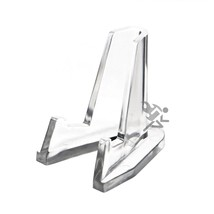 Clear Display Stand Easel for Air-Tite Holder Coin Capsules Challenge Me... - $17.63