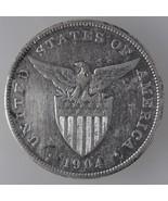 U.S Philippines 1904s, One (1) Peso Silver Coin... - $96.00