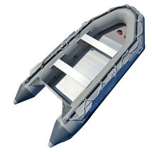 BRIS 14.1 ft Inflatable Boats Fishing Raft Power Boat Zodiac Dinghy Tender Boat image 4