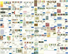 40+ BRITISH FDC First Day Cover Stamps Postage Airmail Cachet Cancel Col... - $172.00